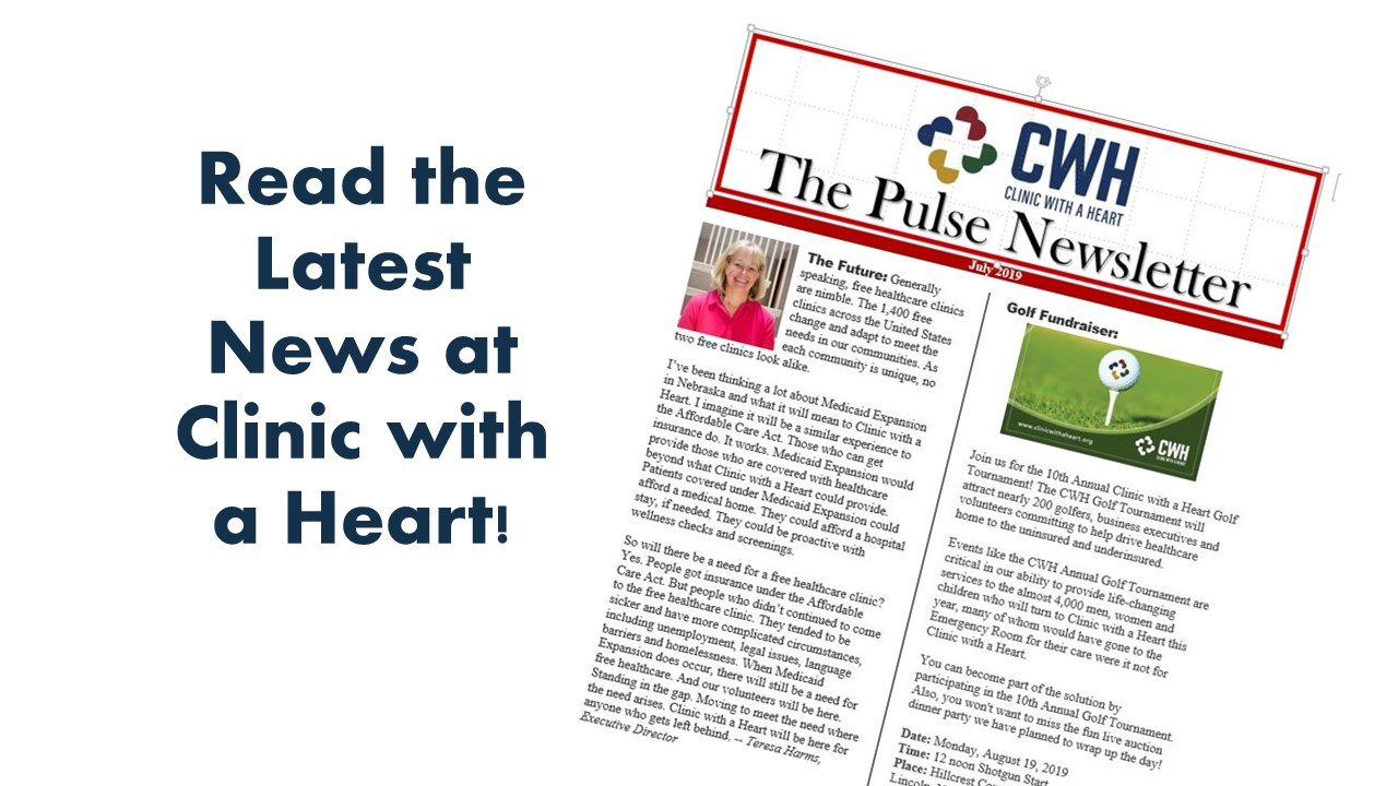 The latest news at Clinic with a Heart
