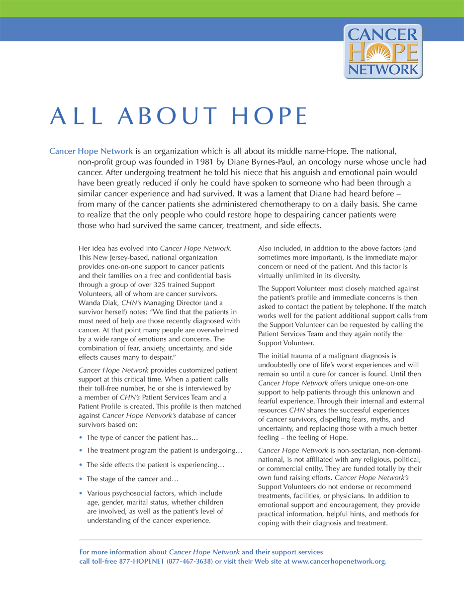All About Hope
