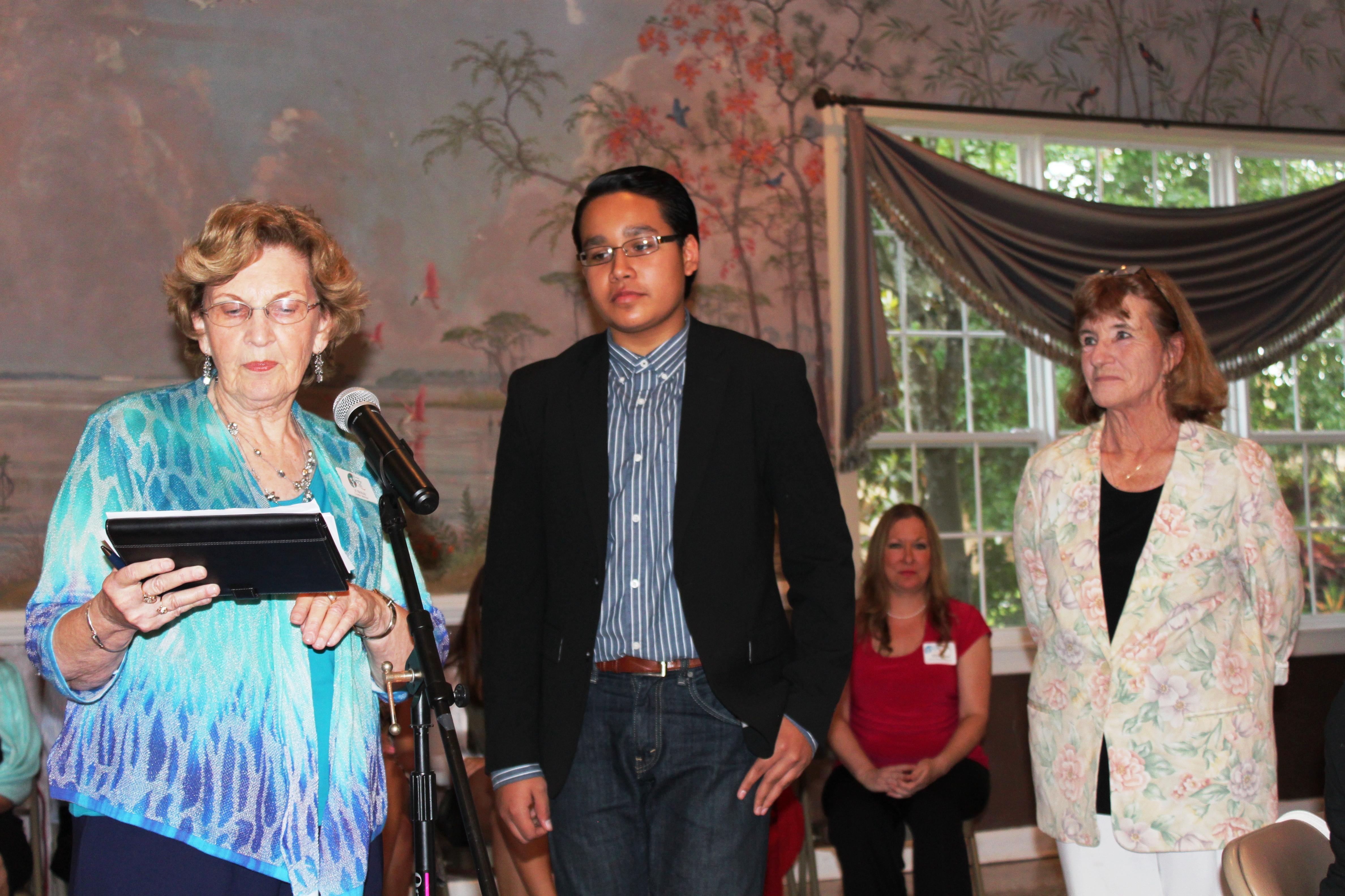 2015 Grant Recipients Recognized