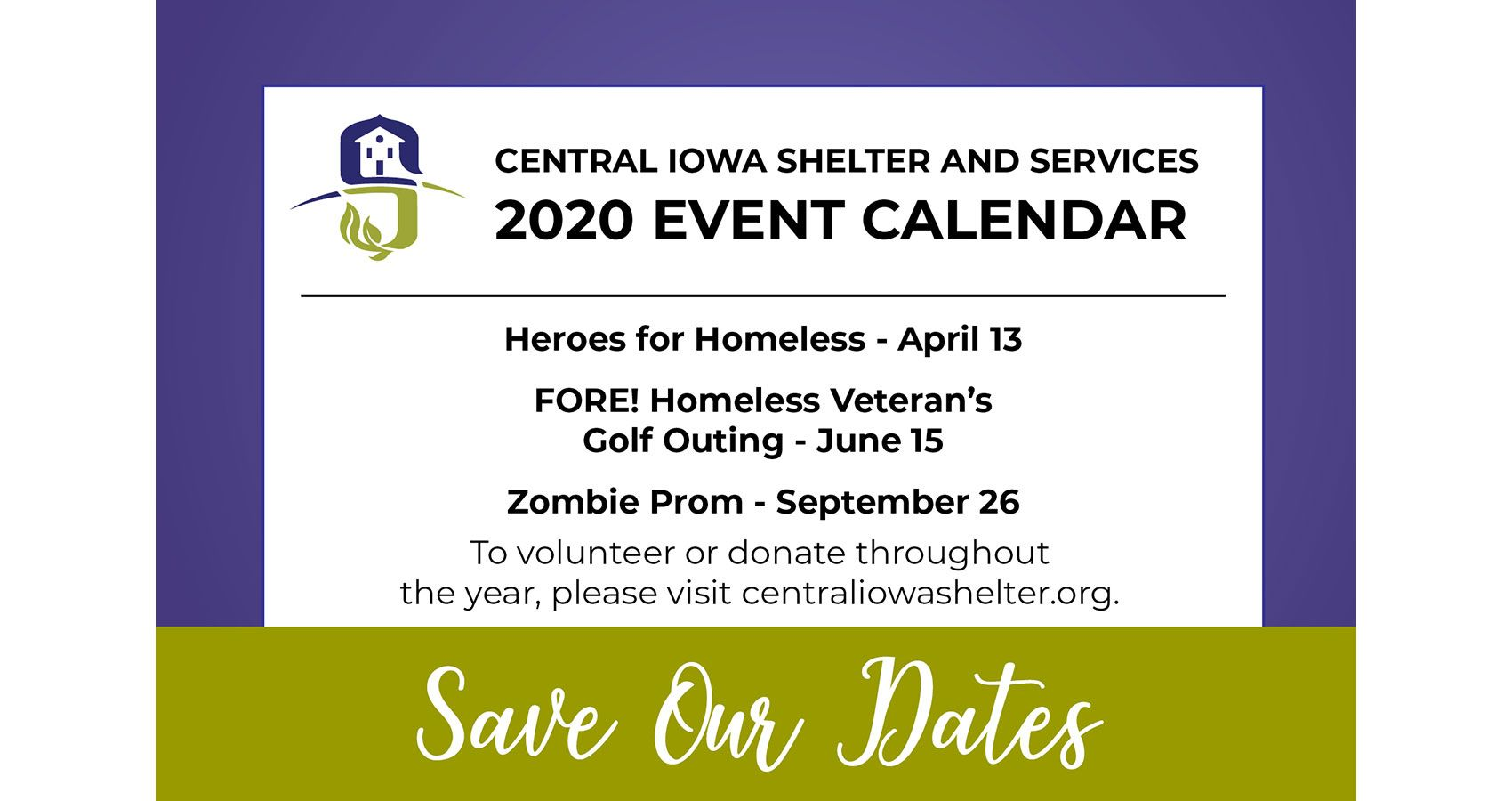 Save Our Dates!