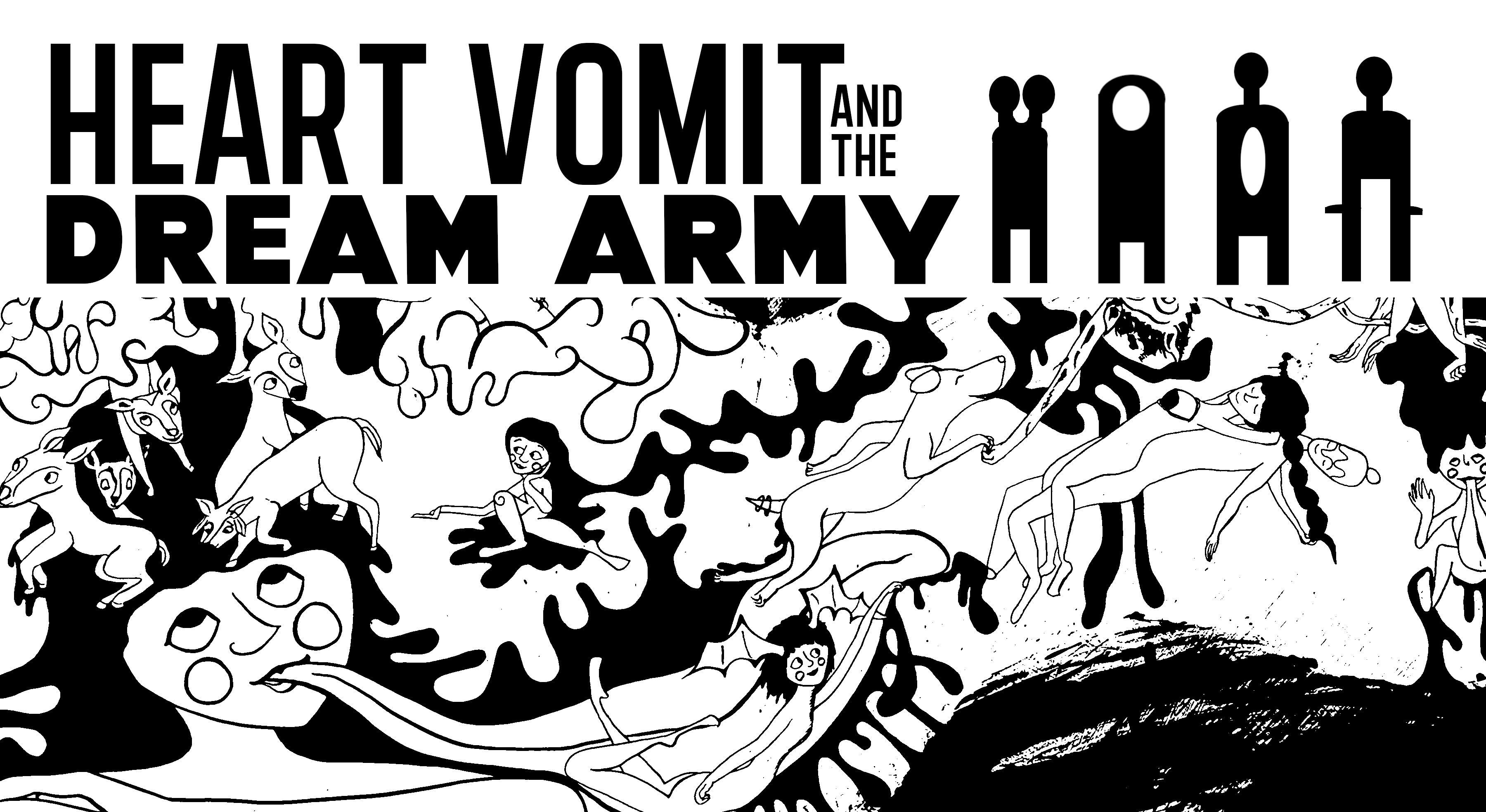 Heart Vomit and the Dream Army: Michelle Postma MFA Thesis Exhibition in the Main Gallery