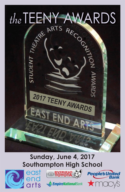 15th Annual Teeny Awards Winners Announced at the Awards Ceremony (posted June 4, 2017)