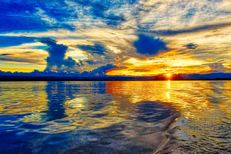 Sunset on the Ucayali