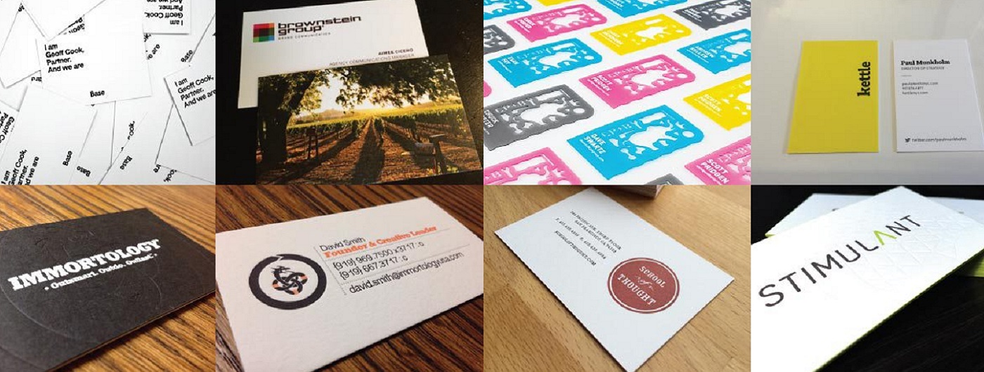 BUSINESS CARDS WITH REAL IMPACT!