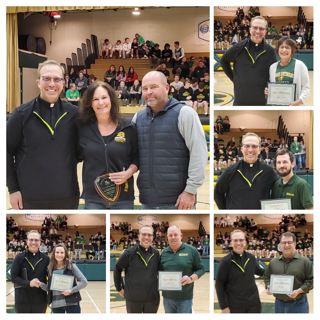 ARCHBISHOP BERGAN CATHOLIC SCHOOL ANNOUNCES KNIGHTS OF THE ROUNDTABLE AWARD WINNERS