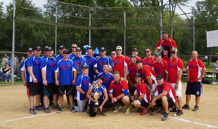"""""""Battle of the Badges"""" Softball Game"""