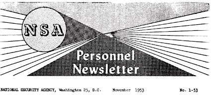 1953: First NSA Newsletter