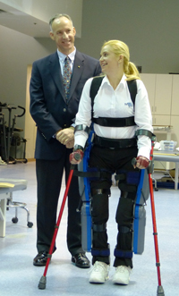 ReWalk™ - a robotic exoskeleton device