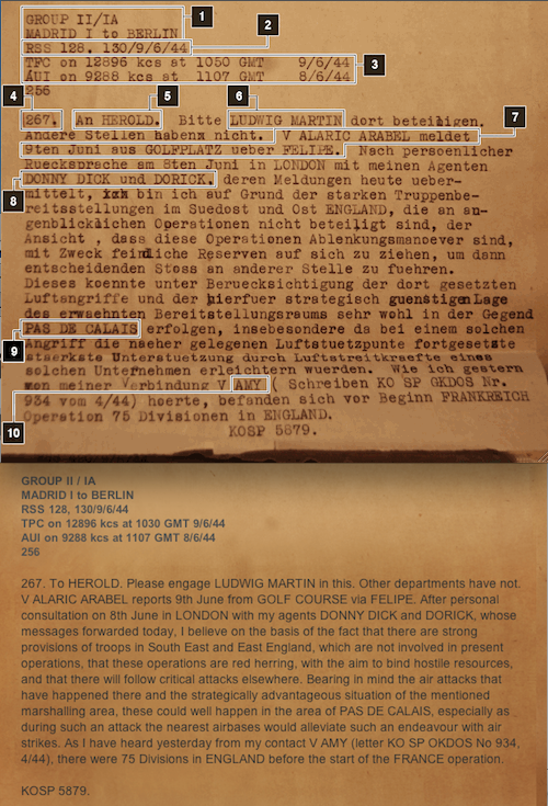 BBC News Magazine article titled The Piece of Paper that fooled Hitler