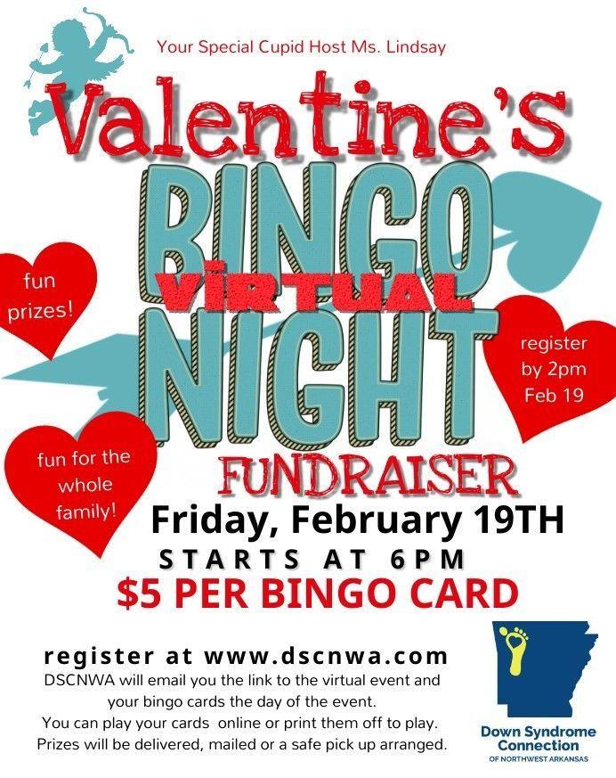 DSCNWA Valentine's Bingo Night Fundraiser