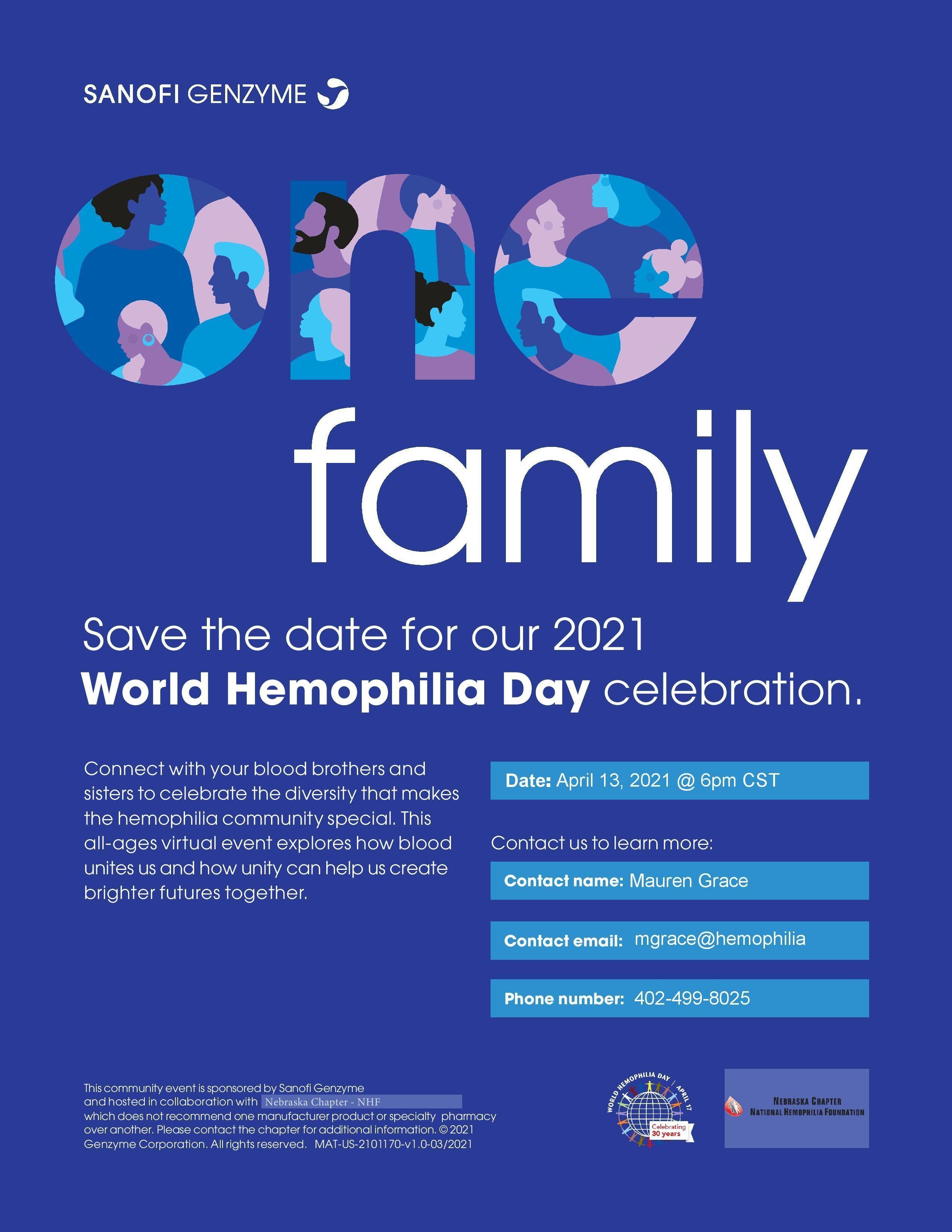 World Hemophilia Day Celebration