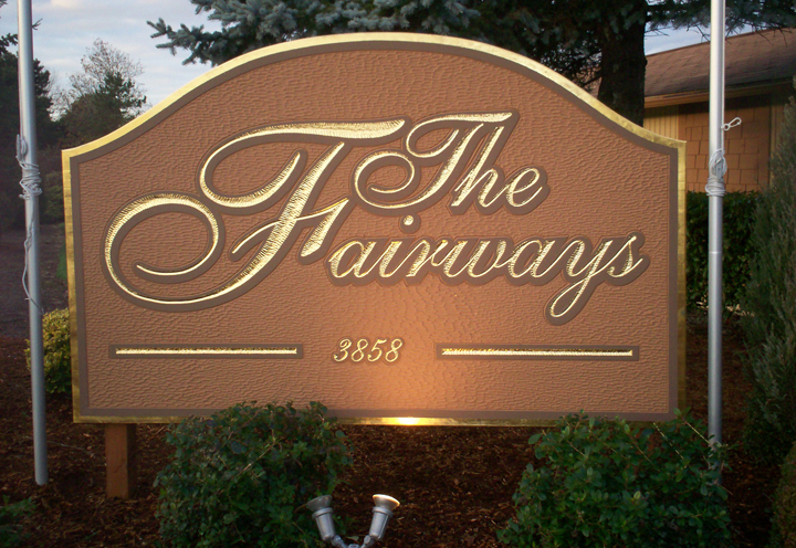 The Fairways Monument Sign