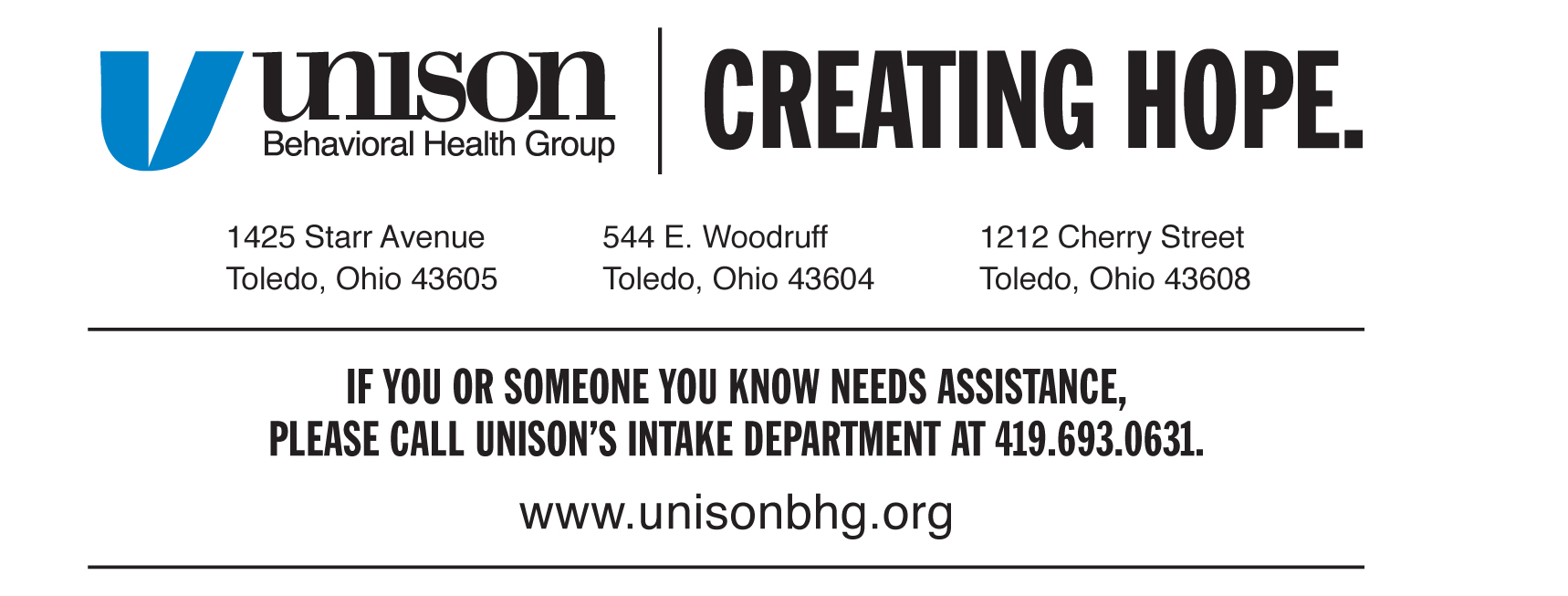 Unison Behavioral Health Group
