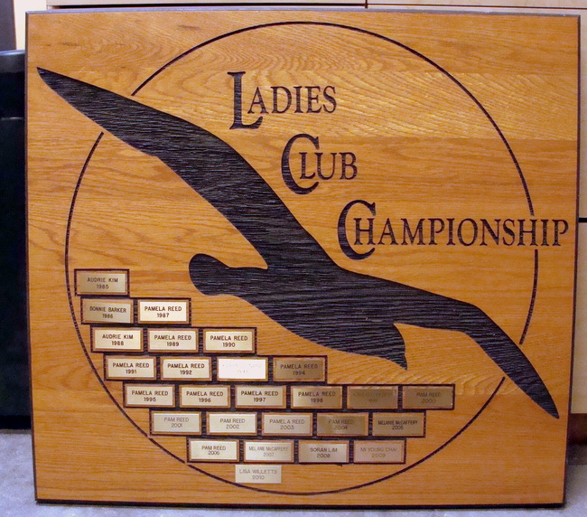 M3078 - Engraved Wood Club Plaque (Gallery 14)