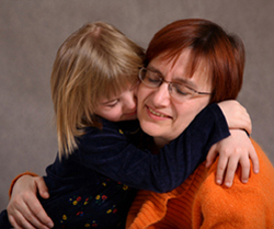 The Kennedy Center, Mom & Daughter, Hugging, Giving