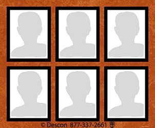3x2 Photo Display