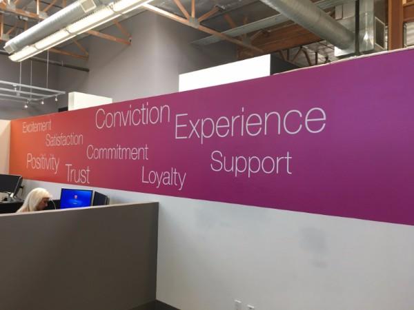 Custom Office Wall Graphics in Orange County CA