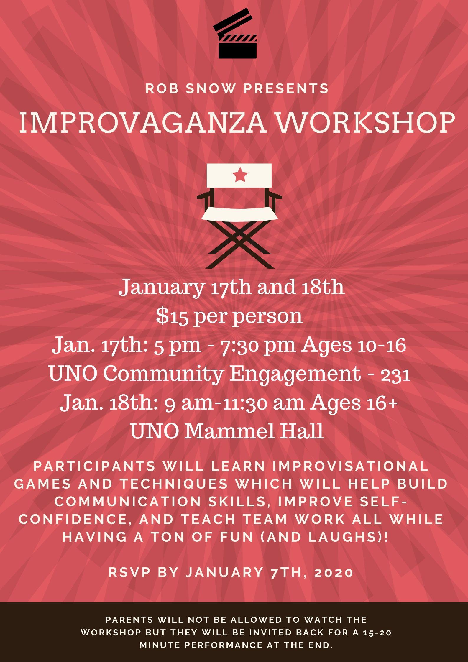 Rob Snow Improv Workshop