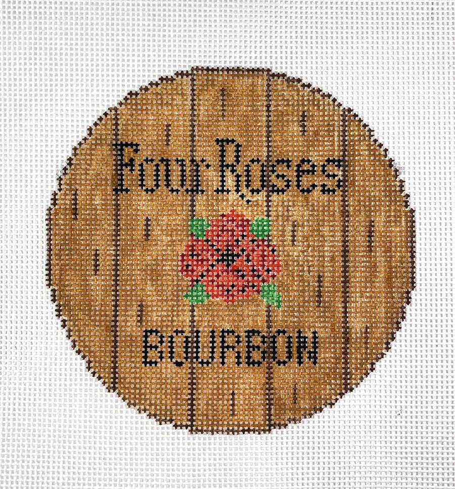 Bourbon Barrel Head - Four Roses