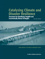 Catalyzing Climate and Disaster Resilience: Processes for Identifying Tangible and Economically Robust Strategies