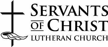 Servants of Christ Lutheran Church