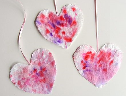A Simple Heart Craft for Toddlers