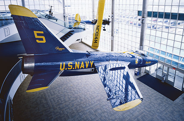 Blue Angel Cradle of Aviation Museum