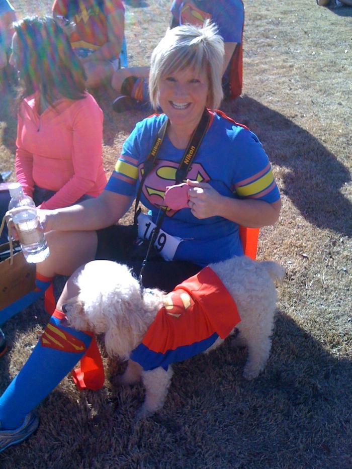 superwoman and superdog