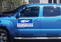 Gordons Auto Vehicle Magnet