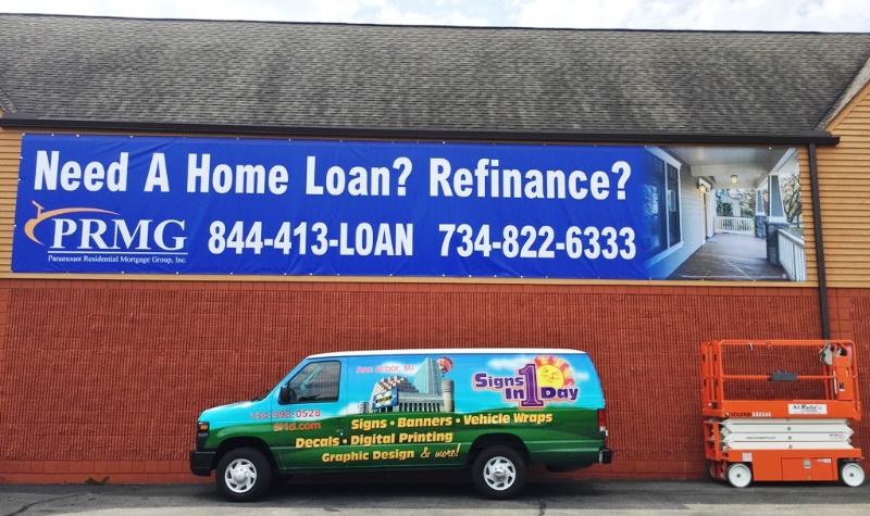 Home Loan 45' x 8' Banner