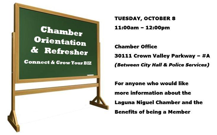 Chamber Orientation Meeting