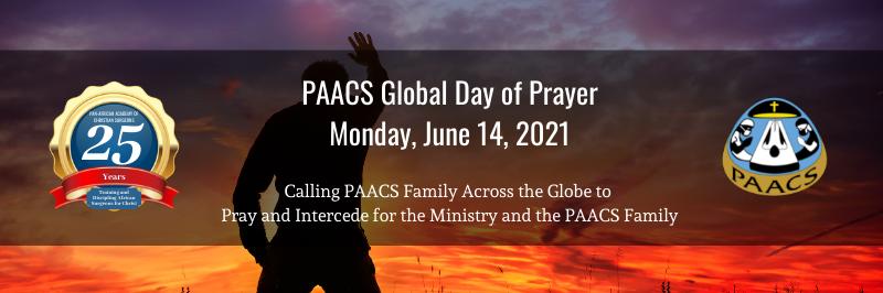 PAACS Global Day of Prayer: June 14, 2021