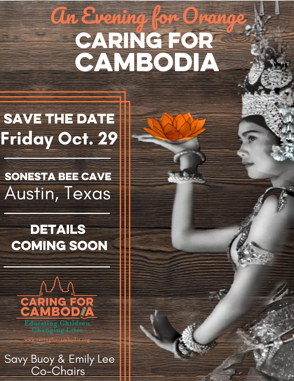 An Evening for Orange in Austin, TX Oct. 29, 2021