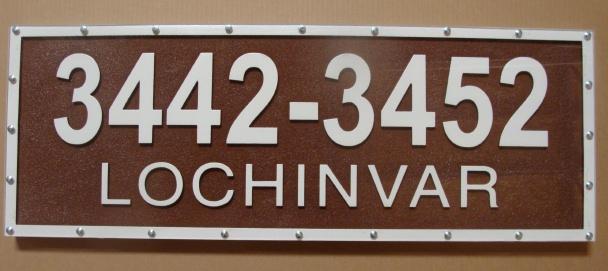 I18894 - Street Address Number Sign