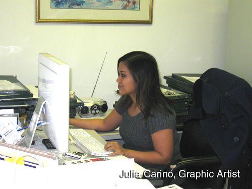 Julia Cariño, Graphic Artist