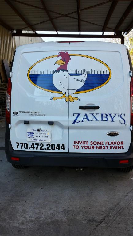 Zaxby's Rear