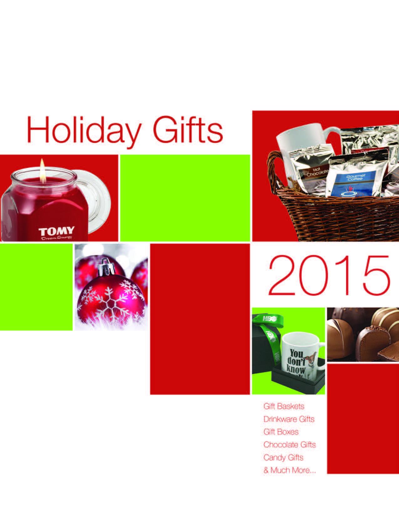 Holiday Gift Catalog 2016