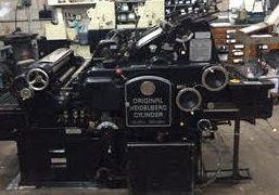 Heidelberg KSBA Cylinder Press