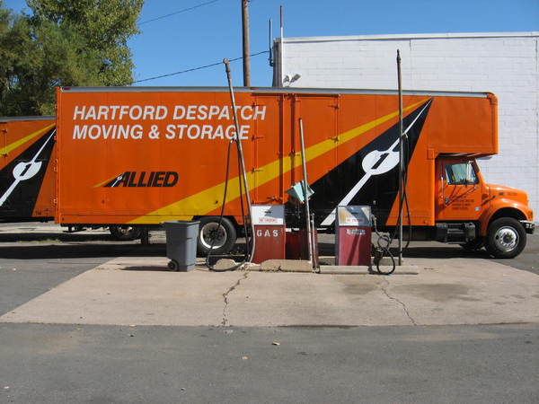 Fleet Graphics, Moving Van Logo, Lettering and Graphics