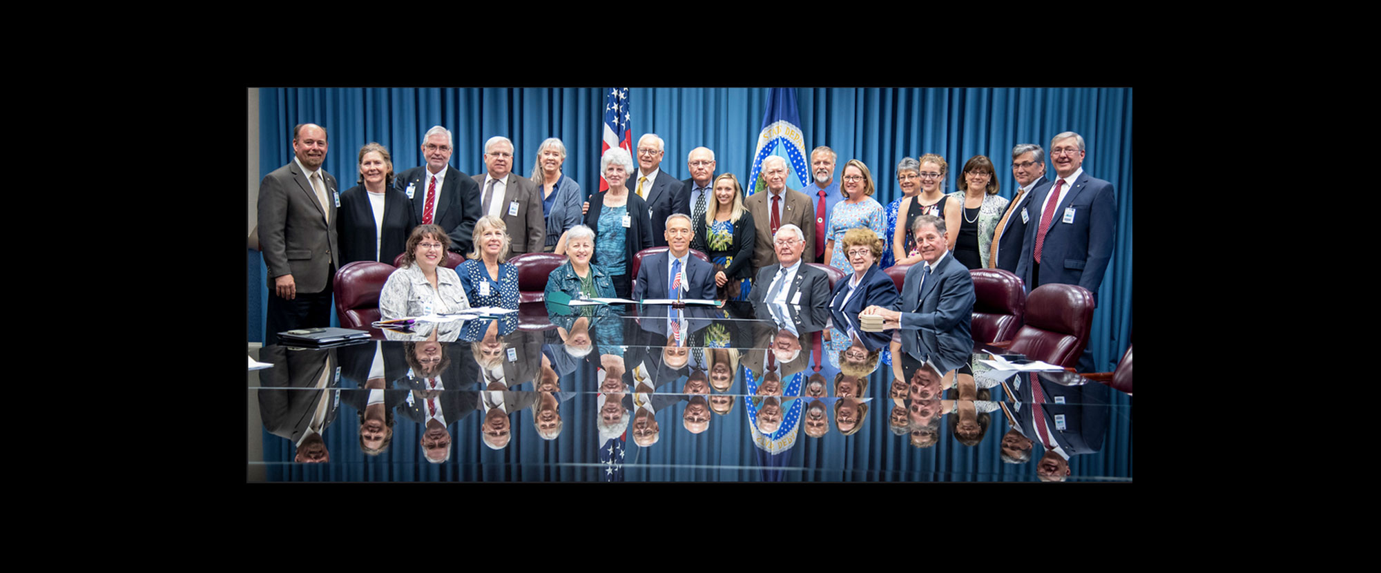 USDA and IFYE hold Ceremony to Sign Memorandum