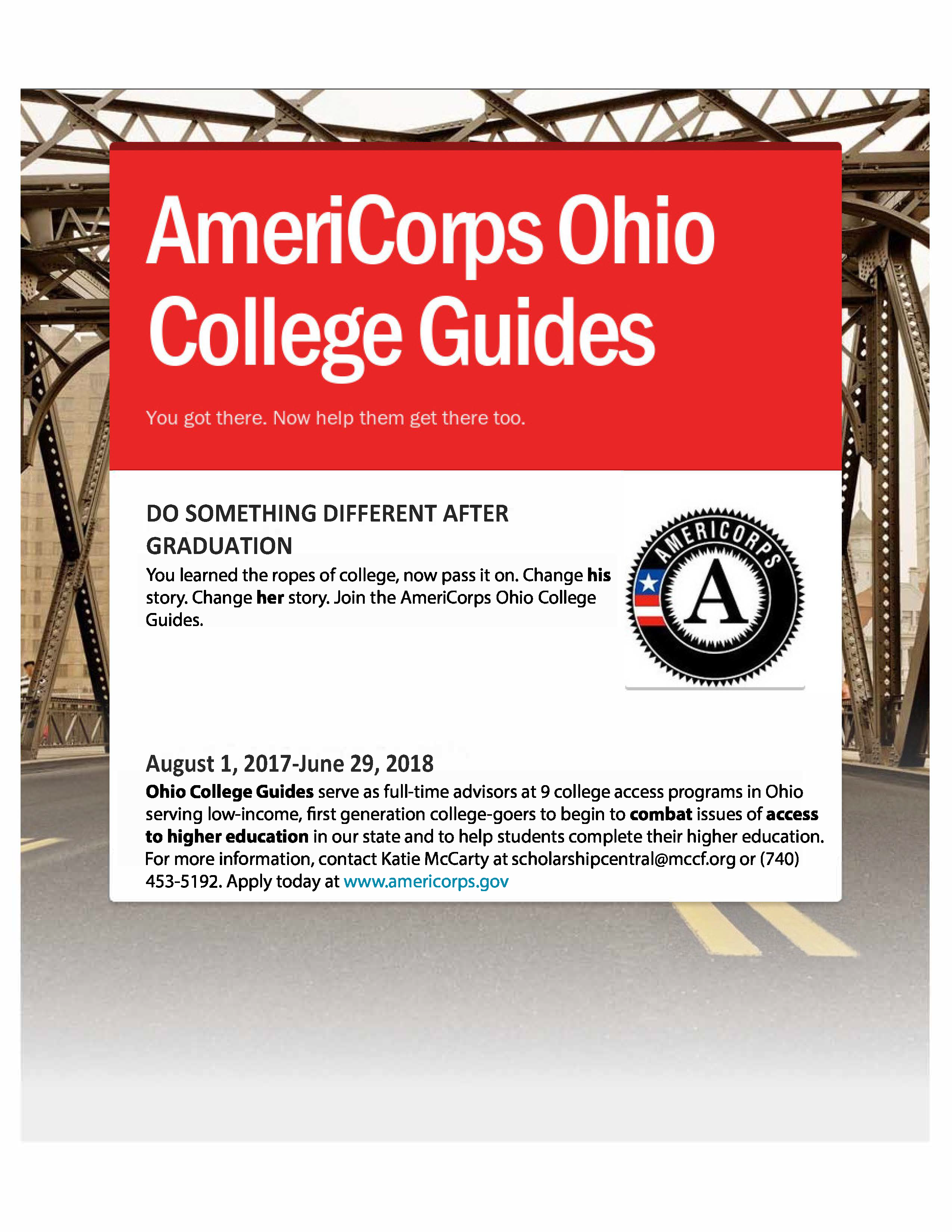 Scholarship Central Accepting Applications for AmeriCorps Positions