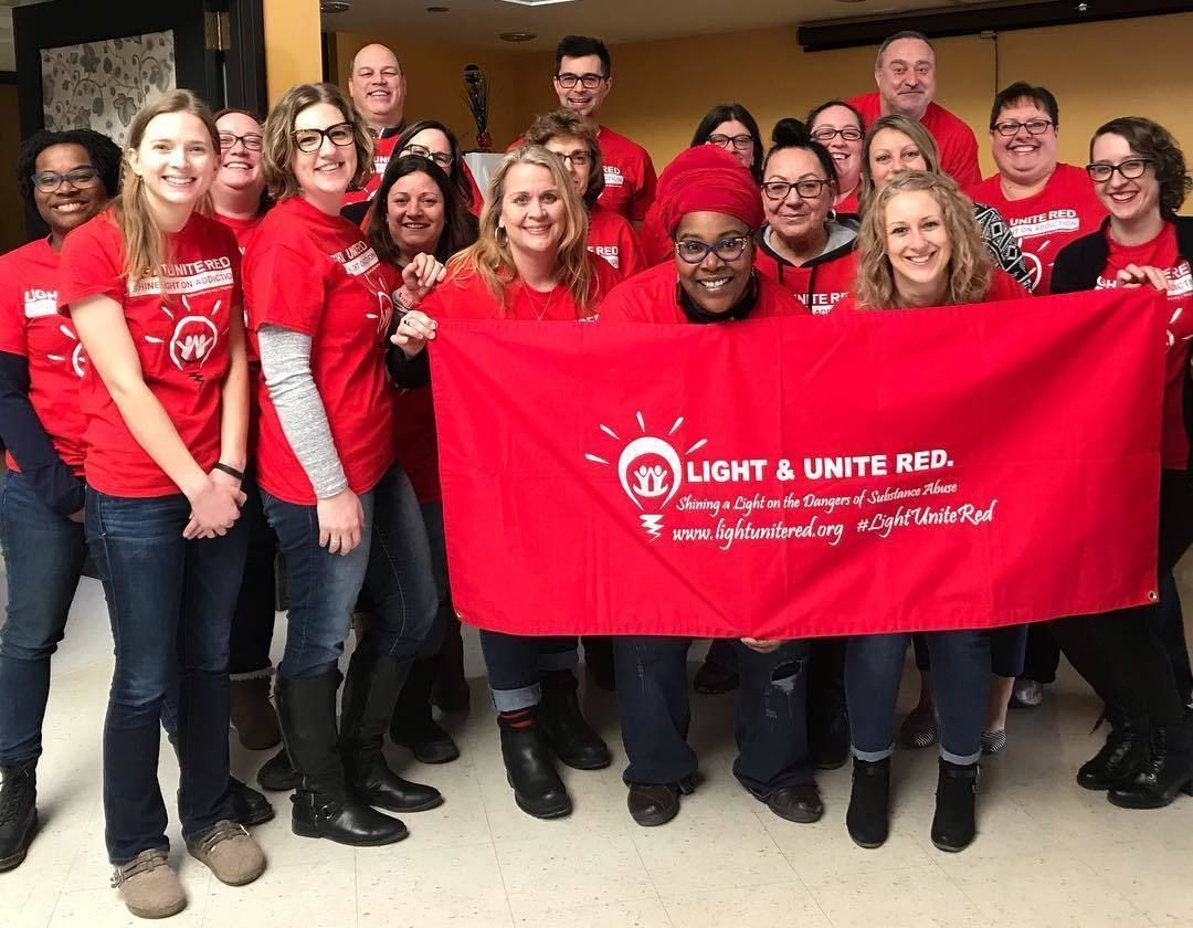 Milwaukee County Light and Unite Red group at BHD