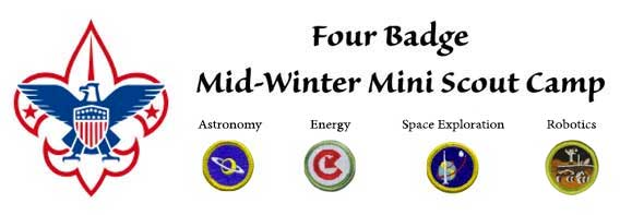 Four Badge Boy Scout Mini Camp