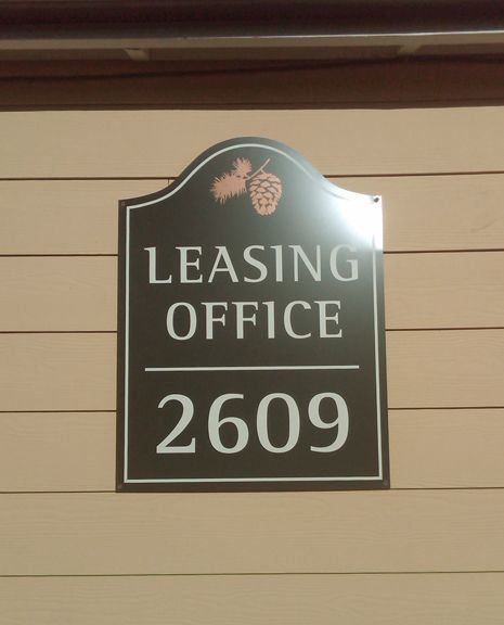 Arbor Glen Building I.D. Sign 1