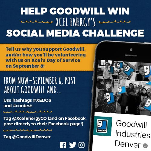 Xcel Energy Day of Service Social Media Challenge
