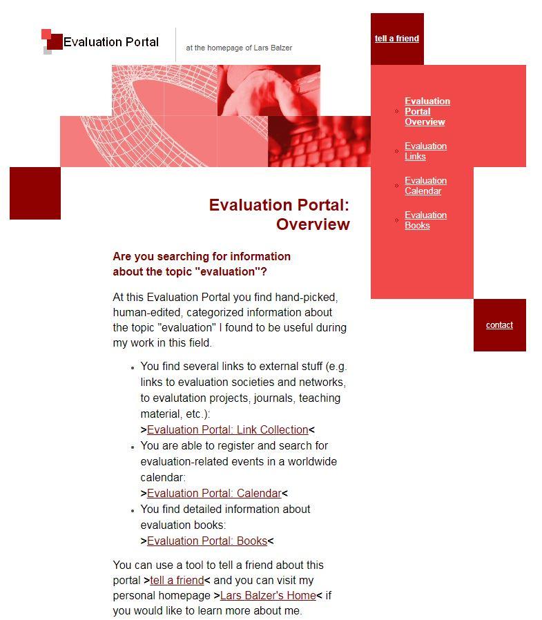 The Evaluation Portal