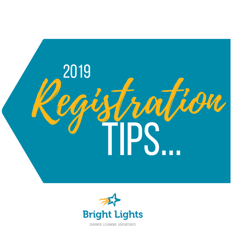 Tips for Registration 2019