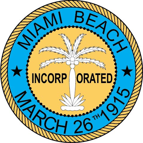 X33094 -  Seal of the City of Miami Beach, Florida