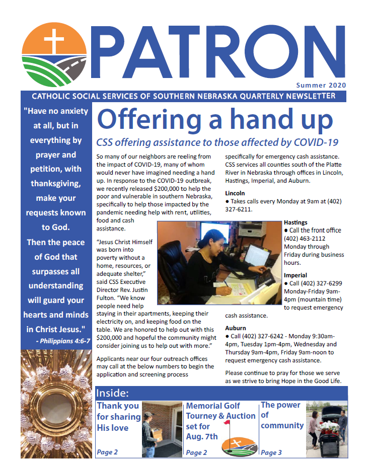 The Patron: Summer Edition 2020