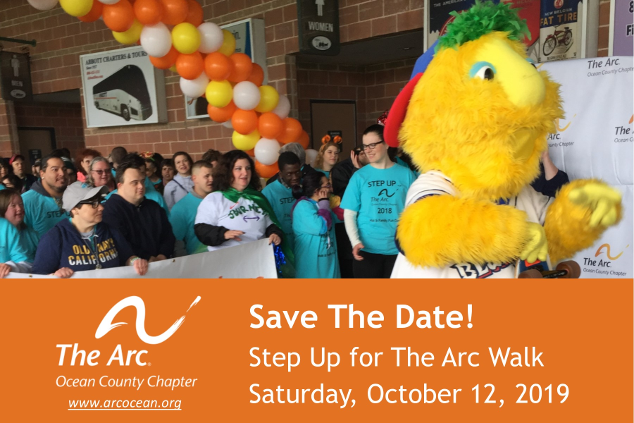Step Up for The Arc Walk